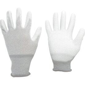 ミドリ安全 MIDORI ANZEN ミドリ安全 静電気拡散性手袋(手のひらコート)L 10双入