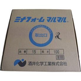 酒井化学工業 SAKAI CHEMICAL ミナ ミナフォームマルマル15mmφ×100m巻