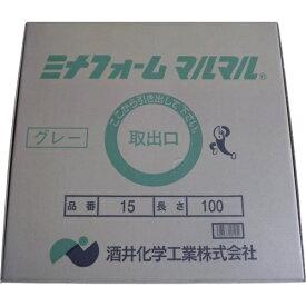 酒井化学工業 SAKAI CHEMICAL ミナ ミナフォームマルマル15グレー