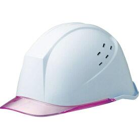 ミドリ安全 MIDORI ANZEN ミドリ安全 女性用ヘルメット LSC−11PCLV ホワイト/ピンク