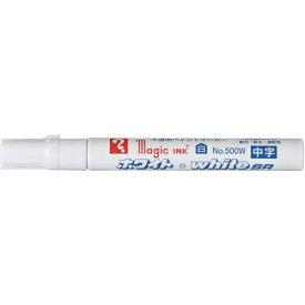 寺西化学工業 Teranishi Chemical Industry マジックインキ ホワイト・whiteSR No.500W