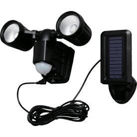 アイリスオーヤマ IRIS OHYAMA ソーラー式LED防犯センサーライト 200lm 2灯 LSL-SBTN-200D