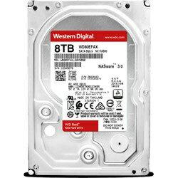 WESTERN DIGITAL ウェスタン デジタル WD80EFAX 内蔵HDD [3.5インチ /8TB][WD80EFAX]