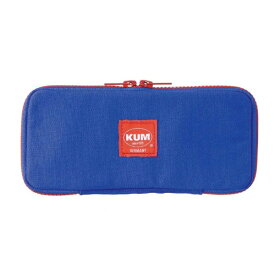レイメイ藤井 [ペンケース]KUM フラットペンケース KM170A ブルー