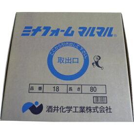 酒井化学工業 SAKAI CHEMICAL ミナ ミナフォームマルマル18mmφ×80m巻