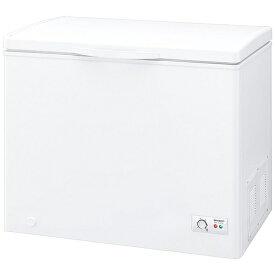 シャープ SHARP 《基本設置料金セット》冷凍庫 ホワイト系 FC-S20D-W [1ドア /上開き /200L]