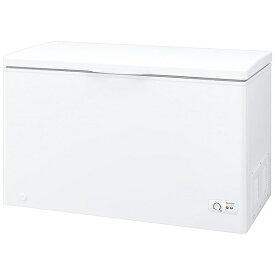 シャープ SHARP 《基本設置料金セット》冷凍庫 ホワイト系 FC-S30D-W [1ドア /上開き /300L]