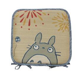 イケヒコ IKEHIKO 【クッション】トトロ はなび シートクッション(40×40cm)