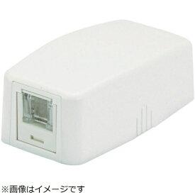 パンドウイット PANDUIT パンドウイット CAT6ローゼットボックスキット シャッター付き 1個口白