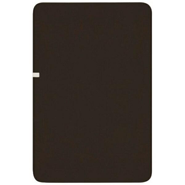 広電 CWK801 電気毛布 KODEN ブラウン [シングルサイズ /掛・敷毛布]