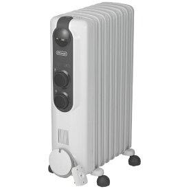 デロンギ Delonghi RHJ35M0812 オイルヒーター アミカルド ピュアホワイト+ダークグレイ [最大10畳][タイマー付き 暖房器具 RHJ35M0812]