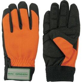 マックス MAX マックス 森の定番 防振手袋(寒冷地仕様) オレンジ LLサイズ