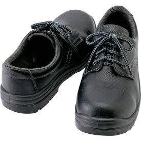 アイトス AITOZ アイトス セーフティシューズ 短靴ヒモタイプ ブラック 25.0cm