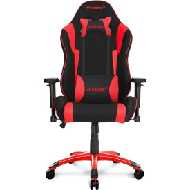 AKRacing エーケーレーシング Wolf Gaming Chair (Red) WOLF-RED AKRWOLFRED レッド[AKRWOLFRED]