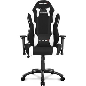 AKRacing エーケーレーシング Wolf Gaming Chair (White) WOLF-WHITE AKRWOLFWHITE ホワイト[AKRWOLFWHITE]