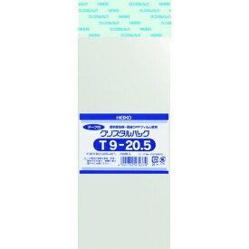 シモジマ SHIMOJIMA HEIKO OPP袋 テープ付き クリスタルパック T9−20.5