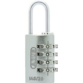 アバス ABUS ABUS ナンバー可変式4段ダイヤル南京錠 145−4d 20 BK