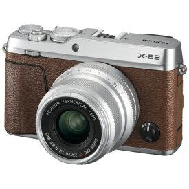 富士フイルム FUJIFILM X-E3 ミラーレス一眼カメラ XF23mmF2レンズキット ブラウン [単焦点レンズ][FXE3LK23F2BW]
