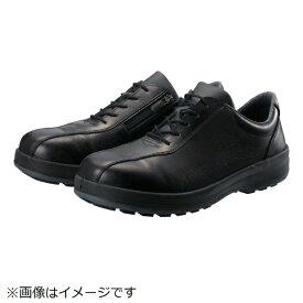 シモン Simon シモン 耐滑・軽量3層底安全短靴8512黒C付 24.0cm