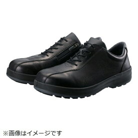 シモン Simon シモン 耐滑・軽量3層底安全短靴8512黒C付 28.0cm