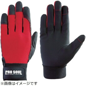 富士グローブ Fuji Glove 富士グローブ PS−992 赤 3L プロソウル 指先補強