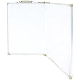 シンワ測定 Shinwa Rules シンワ ホワイトボード折畳式_OAW45x60無地横