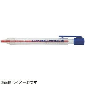 シンワ測定 Shinwa Rules シンワ 工事用 ノック式クレヨン 4.0mm赤