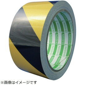 日東エルマテリアル Nitto L Materials 日東エルマテ 再帰反射テープ 75mmX10m イエロー/ブラック