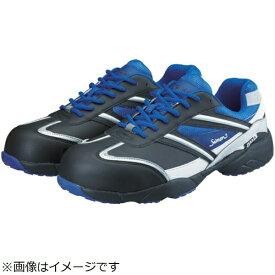 シモン Simon シモン プロテクティブスニーカー KA211クロ/ブルー 24.0cm