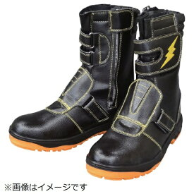 福山ゴム工業 FUKUYAMA RUBBER 福山ゴム キャプテンプロセフティー 3 ブラック 24.5