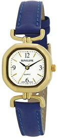サンフレイム SUNFLAME レディース腕時計 MJL-B18-BL メイドインジャパン サンフレイム