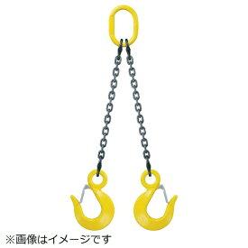 キトー KITO キトー アイタイプダブルスリング スリングフック仕様 7MM×1.5M