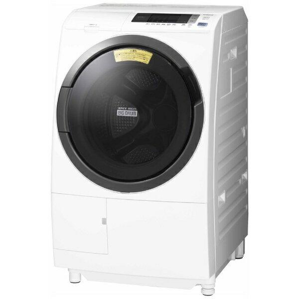 【送料無料】 日立 HITACHI 【10%OFFクーポン配布中! 1/17 23:59まで】BD-SG100CL ドラム式洗濯乾燥機 ホワイト [洗濯10.0kg /乾燥6.0kg /左開き][BDSG100CL]