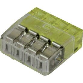 ニチフ端子工業 NICHIFU ニチフ 細線用差込コネクタ極数4 (30個入)