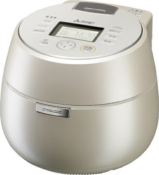 三菱 Mitsubishi Electric NJ-AW109 炊飯器 本炭釜 KAMADO 白和三盆(しろわさんぼん) [5.5合 /IH][NJAW109]