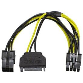 アイネックス ainex 〔PCケース内部電源ケーブル〕 PCI Express用電源変換ケーブル PX-012