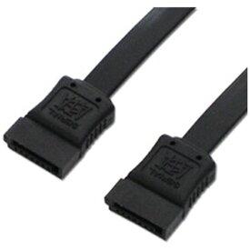 アイネックス ainex 〔SATAケーブル〕 シリアルATAケーブル 45cm SAT-6045BK ブラック