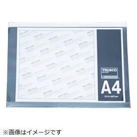 トラスコ中山 TRUSCO ファスナー付クリアケース A5