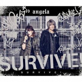 キングレコード KING RECORDS angela/ SURVIVE! 期間限定盤【CD】