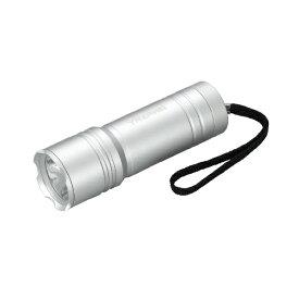 ヤザワ YAZAWA 懐中電灯 シルバー L6A3004SV [LED /単3乾電池×3 /防水]