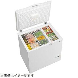 パナソニック Panasonic 《基本設置料金セット》冷凍庫 ホワイト NR-FC23FB [1ドア /上開き /225L][NRFC23FB]