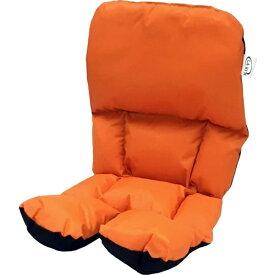 LAKIA ラキア チャイルドシート前後兼用クッション(オレンジ) 228103
