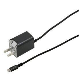 バウト BAUT AC充電器 Lightning 1.5m PREMIUM ガンメタ BACLAN24GM