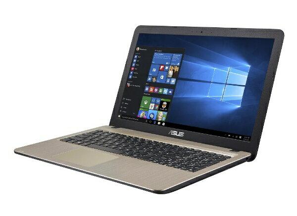 ASUS エイスース ASUS VivoBook X540YA-XX744T 15.6型 1366x768(WXGA)/AMD E2-6110 APU/ 4G/500G/DVDスーパーマルチドライブ X540YA-XX744T ダークブラウン [AMD Eシリーズ][X540YAXX744T]
