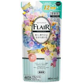 花王 Kao FLAIR FRAGRANCE(フレア フレグランス) フラワーハーモニーの香り つめかえ用 480ml 〔柔軟剤〕