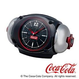 セイコー SEIKO 大音量目ざまし時計 コカ・コーラ 黒メタリック AC605K [アナログ]