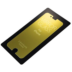 坂本ラヂヲ iPhone 6s Plus/ 6 Plus用 GRAMAS FEMME Protection Mirror Glass FEXIP6PMG Gold