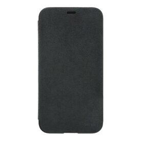 パワーサポート POWER SUPPORT iPhone X用 Ultrasuede Flip case PGK-90 Asphalt