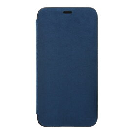 パワーサポート POWER SUPPORT iPhone X用 Ultrasuede Flip case PGK-91 Blue