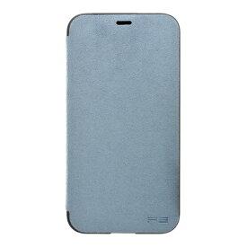 パワーサポート POWER SUPPORT iPhone X用 Ultrasuede Flip case PGK-92 Sky